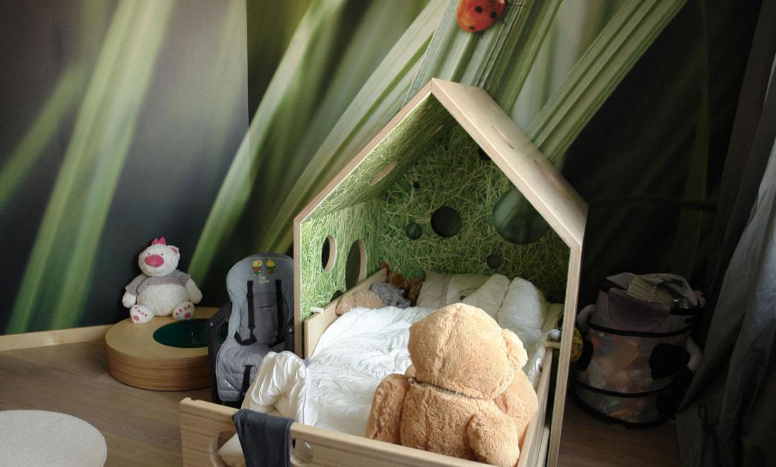 Картинка детской кровати в эко