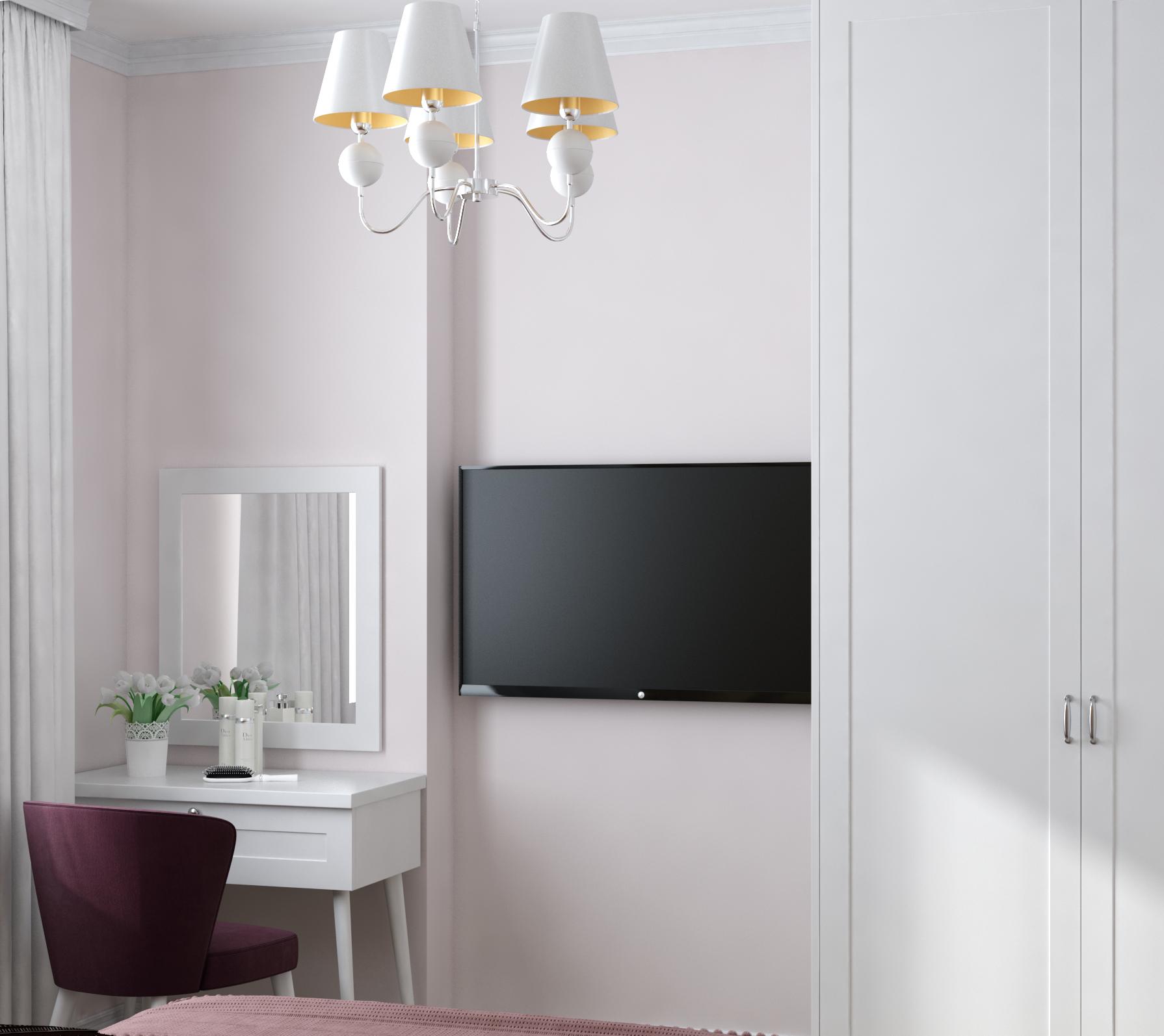 Картинка элегантной гостевой спальни