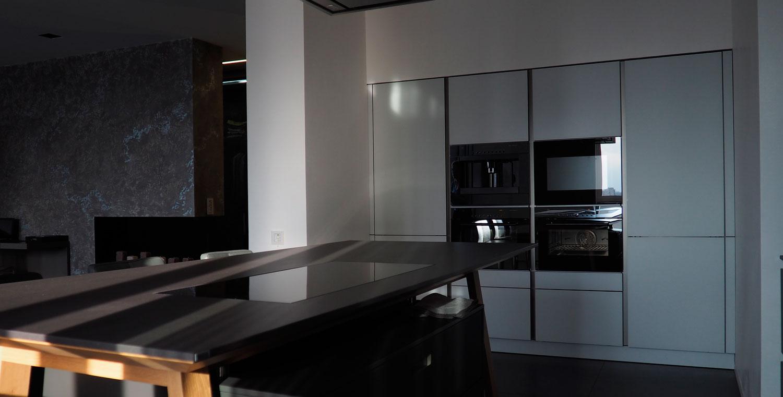 Встроенные пеналы кухни