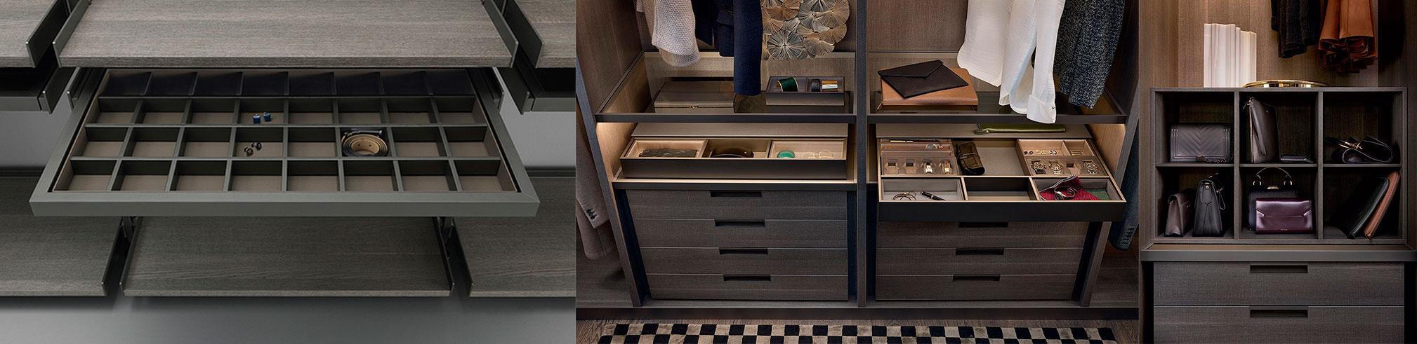 Фотографии всевозможного наполнения гардеробной комнаты