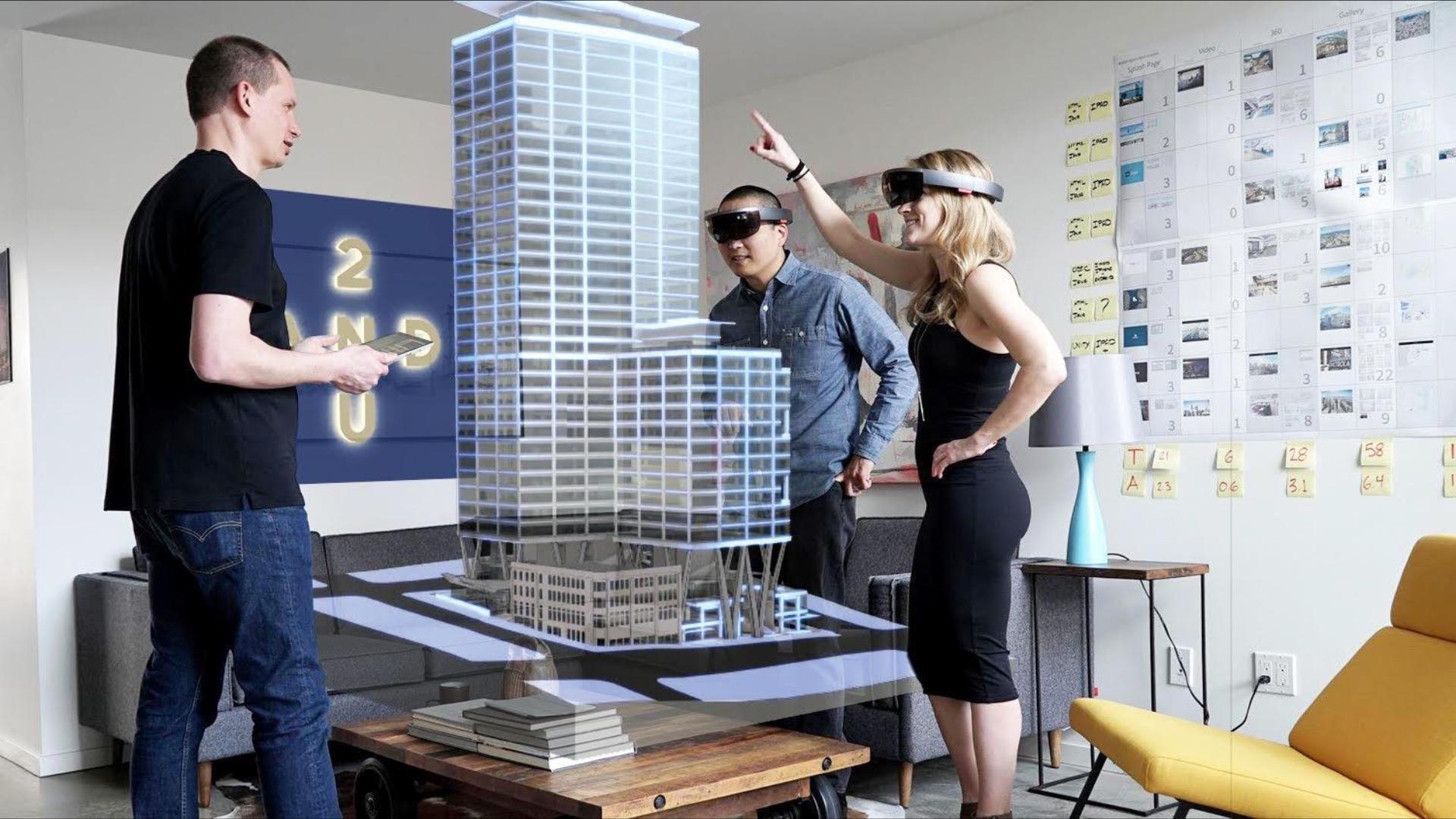 Архитектура и смешанная реальность
