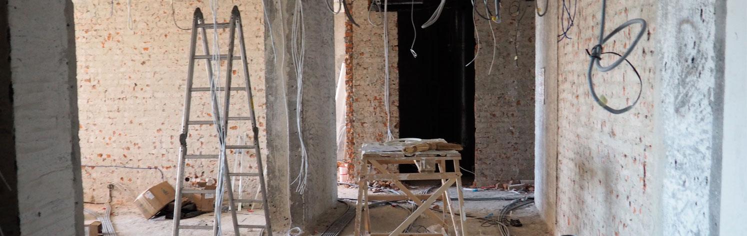 Фото квартиры после демонтажа