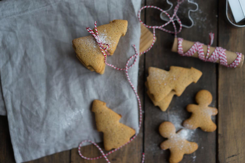 Картинка с новогодним печеньем