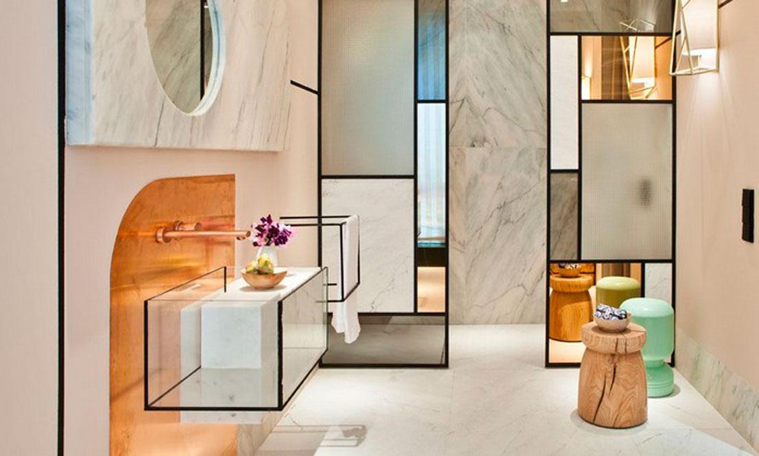 Фото эклектичной ванной комнаты