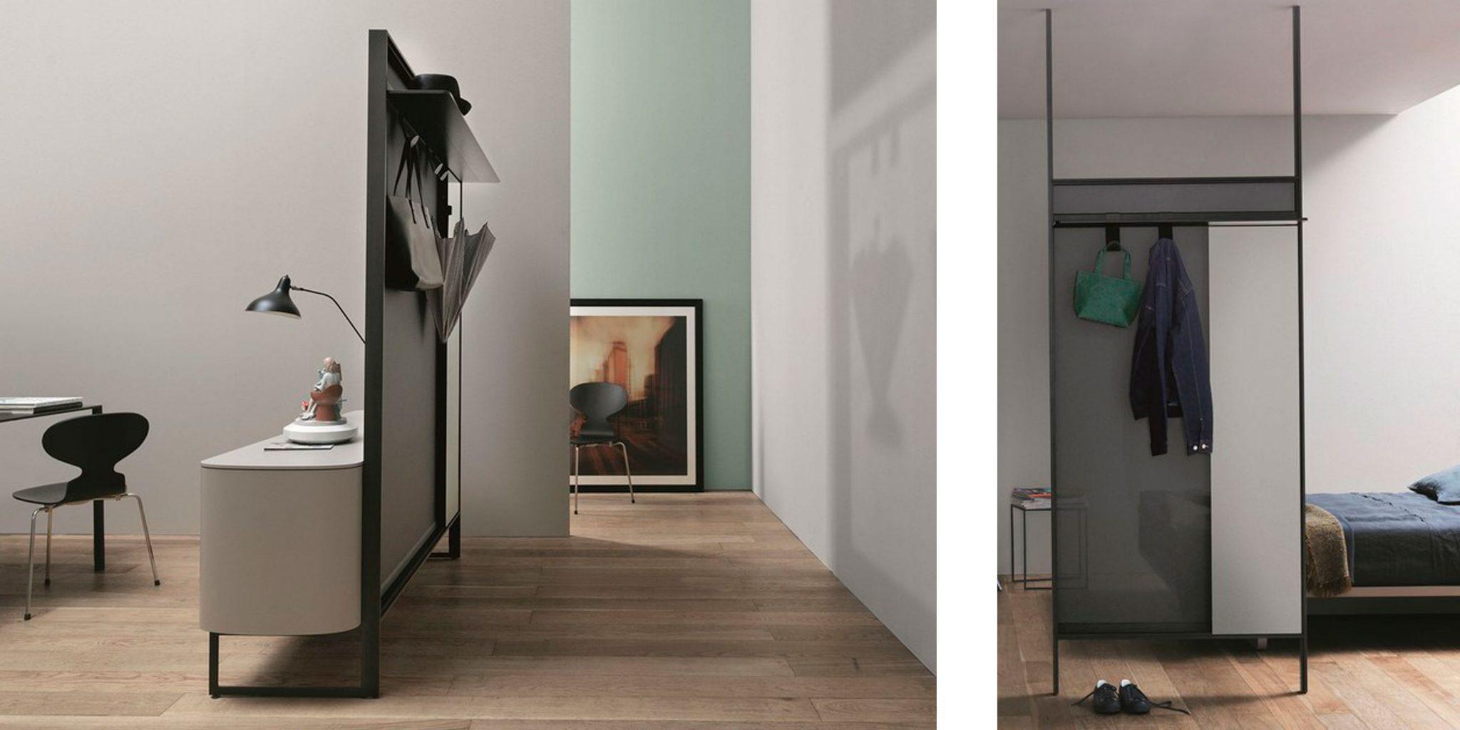 Картинка с вариантами зонирования помещения для квартиры студии