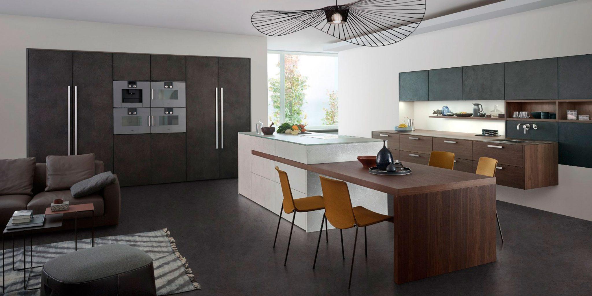 Объединение помещений кухни, столовой и гостиной