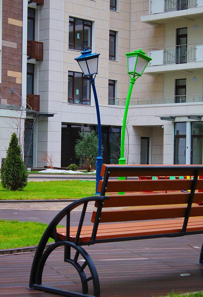 Изображение детской площадки в ЖК Бульвар Фонтанов