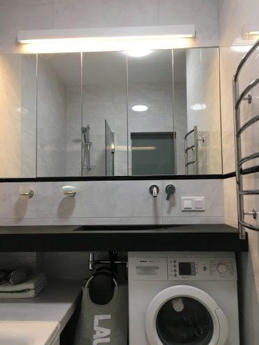 Картинка маленькой ванной комнаты