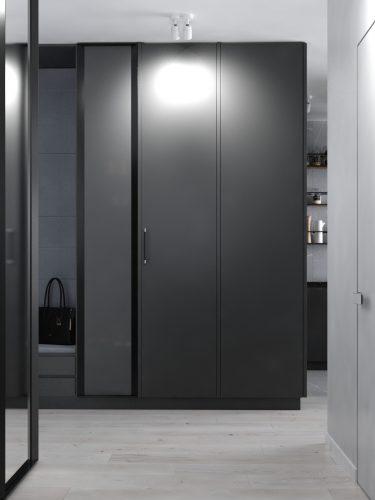 Картинка шкафа в дизайне коридора